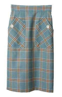 31 Sons de mode ビックポケットチェックタイトスカート