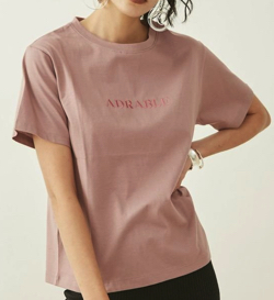 EVRIS シルケットEmbroidery Tシャツ