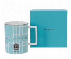 TIFFANY&CO. マンハッタン マップ マグカップ