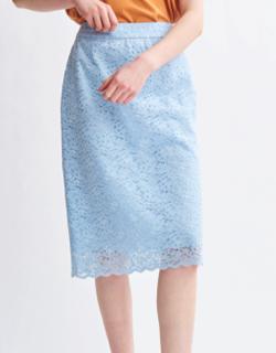 LOUNIE レースタイトスカート