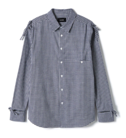 soduk ribbon everywhere shirt / blue