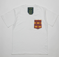 CLOUDY Pocket T-SHIRTS Vneck 045