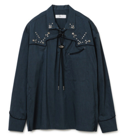 TOGA VIRILIS Typewriter western shirt