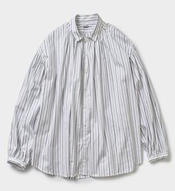 MANON ストライプ アミカル シャツ