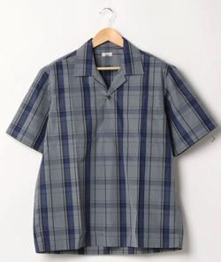 Scye 先染高密度チェックシャツ