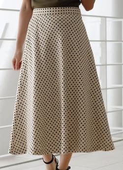 STRAWBERRY-FIELDS バレンシアドット スカート