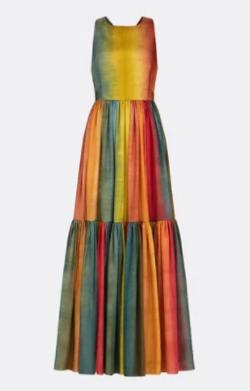 Dior DIORAURA ロングドレス ワンピース