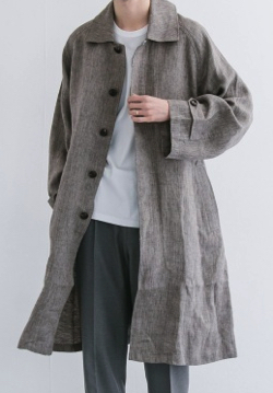 saby LINEN TYPE01 COAT