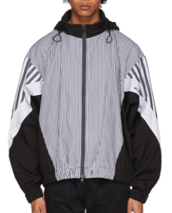 Minotaur ホワイト・ブラック ストライプ ジャケット