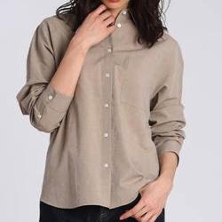 I.T.'S. international シャンブレーワイドシャツ