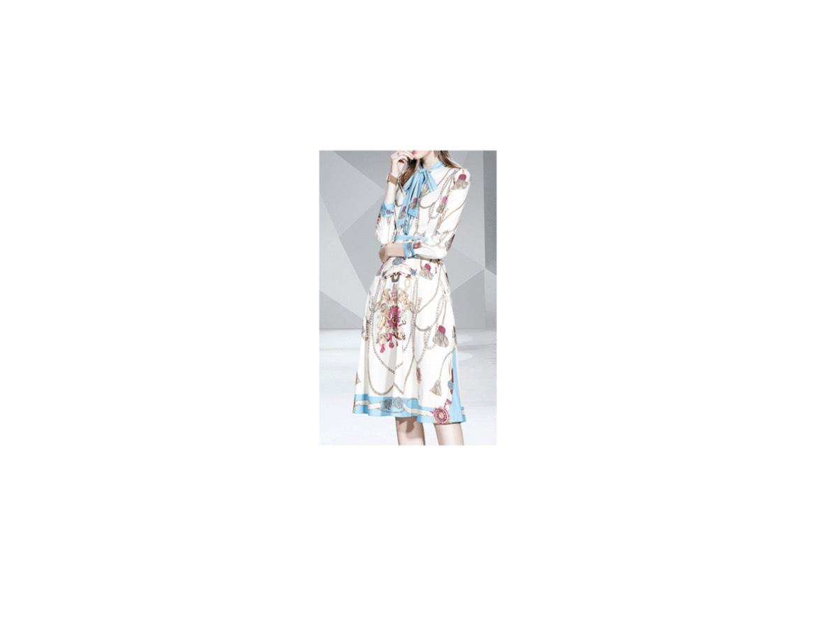 横山ルリカ さんが【BSスーパーKEIBA】で着用している服(服装)・可愛い衣装(洋服・アクセサリー等)やコーデ・ファッションやブランド【BSスーパーKEIBA】2020/05/25《横山ルリカ》さん着用ワンピースのブランド
