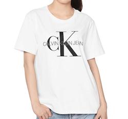 calvinklein 半袖白Tシャツ