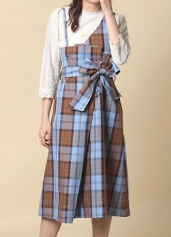 ROSETIARA(ローズティアラ)ワンショルダーラップ風スカート