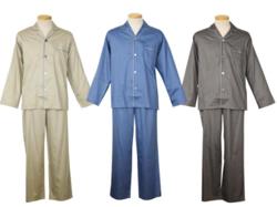 NAIGAI 極眠プレミアムサテン 紳士パジャマ
