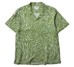 CRIMIE TIGER ALOHA SHORT SHIRT
