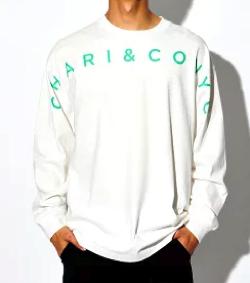 CHARI&CO GOTHAM ARCH LOGO L/S TEE Tシャツ ロンT