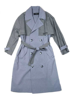 MILKBOY MIXED TRENCH COAT