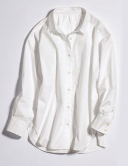 Attenir イタリアンコットンシャツ