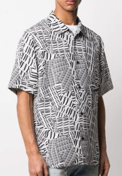 Alexander Wang silk monochrome shirt