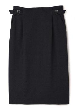BOSCH デニム調ジャージーセットアップスカート
