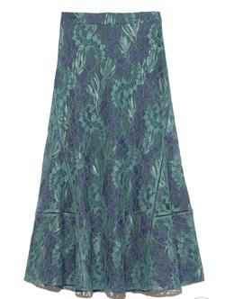FRAY I.D レースナロースカート