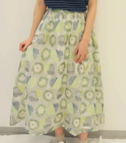 haupia りんご【スカート】