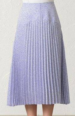 CAST: ボタニカルプリントスカート