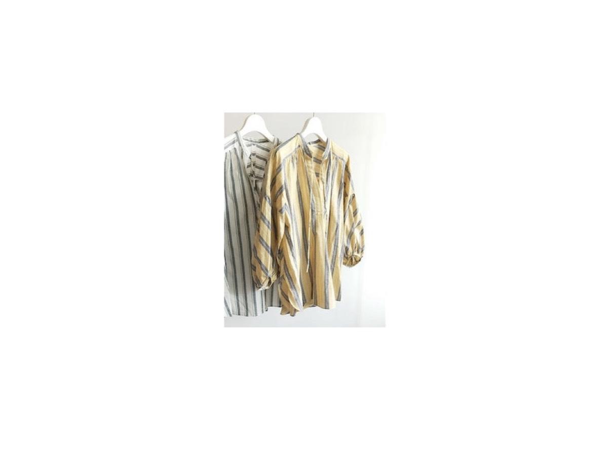 【zip】で吉田沙保里(よしだ さおり)さんが着用しているファッション(服・服装)・可愛い衣装(洋服・ファッション・ブランド・バッグ・アクセサリー等)やコーデ【zip】2020/5/29放送で《吉田沙保里(よしだ さおり)》さんが着用していたイエローのシャツ