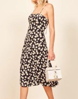 REFORMATION (リフォーメーション)peach dress