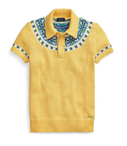 POLO RALPH LAUREN  jacquard-knit