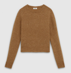 CELINE(セリーヌ)crew neck sweater in shetland