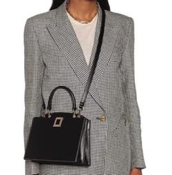 Roger Vivier(ロジェ ヴィヴィエ)medium leather shoulder bag