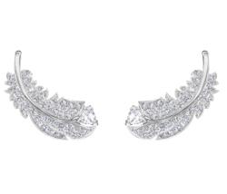 SWAROVSKI (スワロフスキー) nice pierced earring