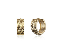 HAESOO.L gold hoop earring JE1086