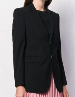 VALENTINO(ヴァレンティノ) women's black silk blazer