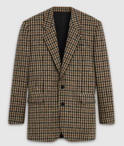 CELINE(セリーヌ)Tournon Jacket in Checked Wool