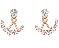 SWAROVSKI (スワロフスキー)moonsun earrings