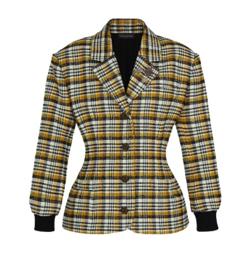Louis Vuitton 2019 Fall Winter checkered coat