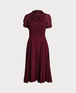 POLO RALPH LAUREN Georgette Short-Sleeve Dress