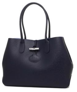 LONGCHAMP(ロンシャン)large leather roseau tote bag