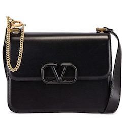 valentino(ヴァレンティノ) leather shoulder bag