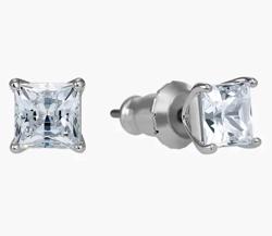 SWAROVSKI (スワロフスキー)attract pierced earrings