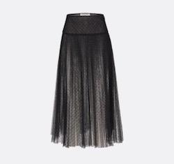 Dior (ディオール)Point d'Esprit チュール プリーツスカート