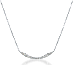STAR JEWELRY(スタージュエリー)Pt950 ネックレス DIAMOND SHOOTING STAR NECKLACE(L)