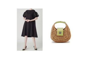 モデルの美香さんが【Instagram】で着用しているファッション・衣装(私服・バッグ・アクセサリー・靴など)やコーデ美香【Instagram・2020/6/7】衣装(ワンピース・かごバッグ)のブランド