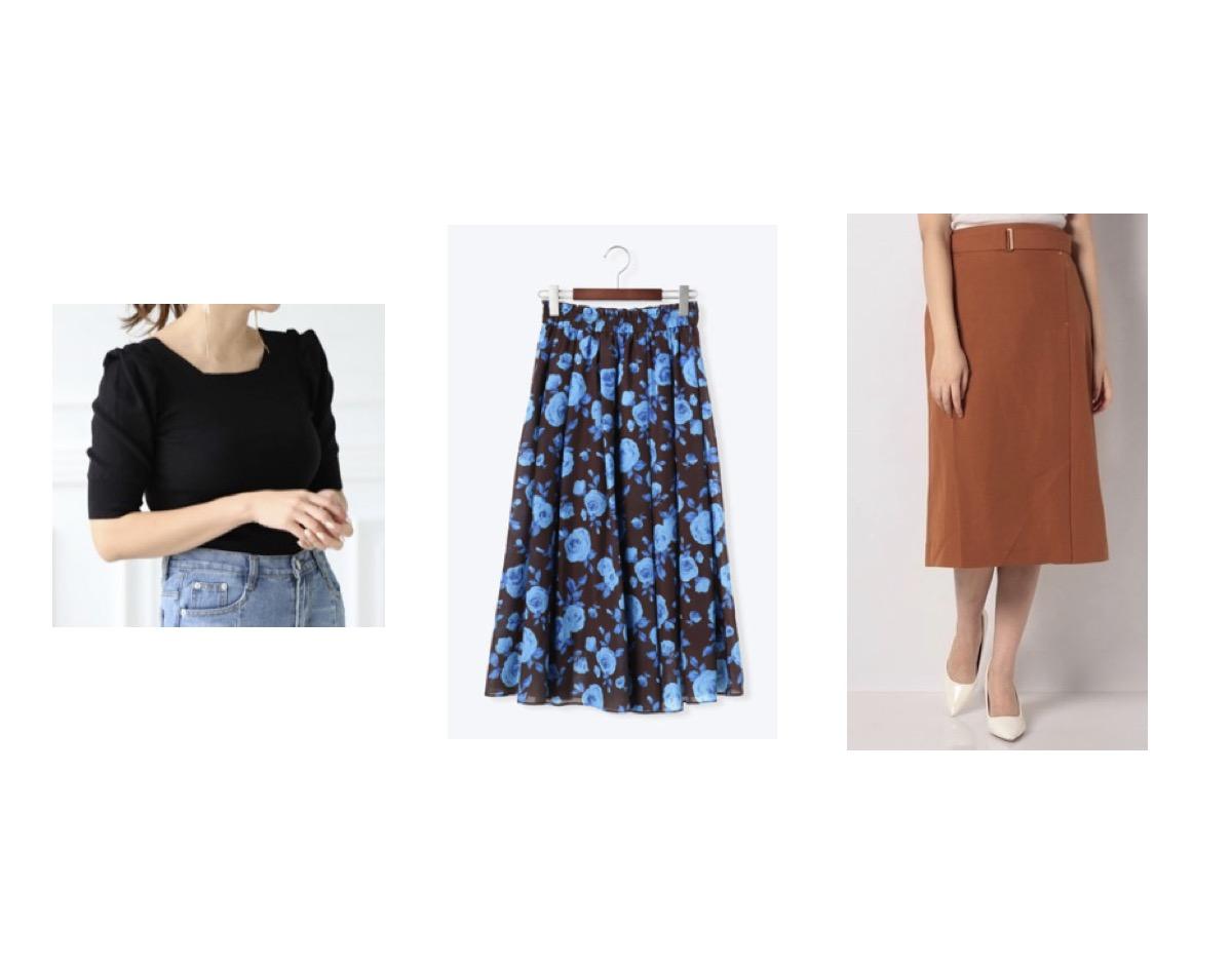 【スーパー Jチャンネル】で 大木優紀(おおき ゆうき) アナが着用しているファッション・可愛い衣装(ワンピース・ブラウス・スカート・アクセサリーなど)のブランドやコーデ