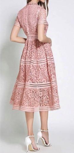 Antoinette オーガンジーロングドレス