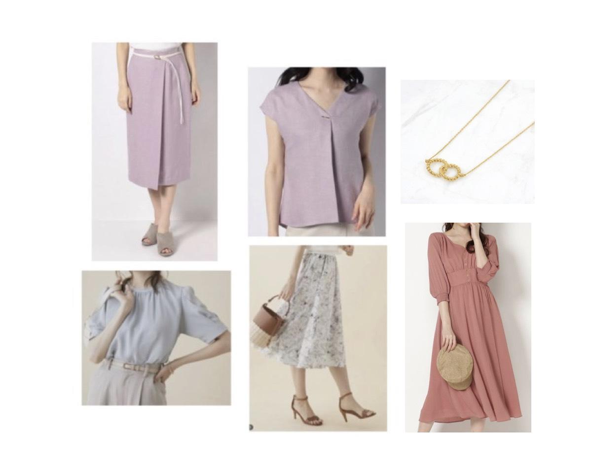 河出奈都美(かわで なつみ)アナが【シューイチ】で着用しているファッション・衣装(服・バッグ・アクセサリー・靴など)やコーデ【シューイチ】2020/7/5《河出奈都美》さん衣装(ワンピース・ネックレス)のブランドはこちら♪