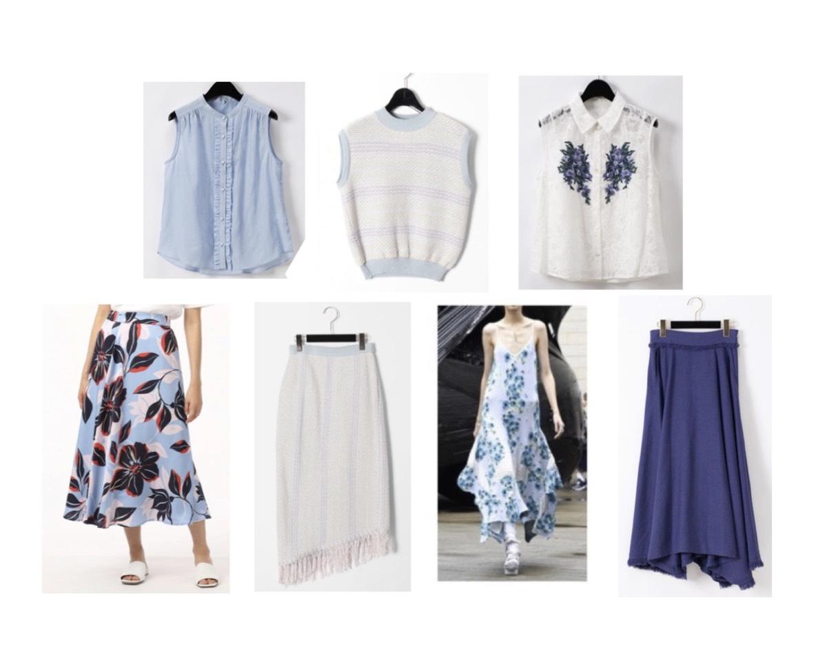 田中みな実さんが【ジョブチューン】で着用しているファッション・衣装(服・バッグ・アクセサリー・腕時計・靴など)やコーデ田中みな実【ジョブチューン】着用かわいい衣装♪春夏おすすめブルーの花がらワンピースのブランドはこちら♪