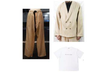 瀬戸康史(せと こうじ)さんが【ジョブチューン】で着用しているファッション・衣装(服・バッグ・アクセサリー・靴など)やコーデ【ジョブチューン】2020/6/27《瀬戸康史》さん衣装(ジャケット・パンツ・Tシャツ)のブランドはこちら♪